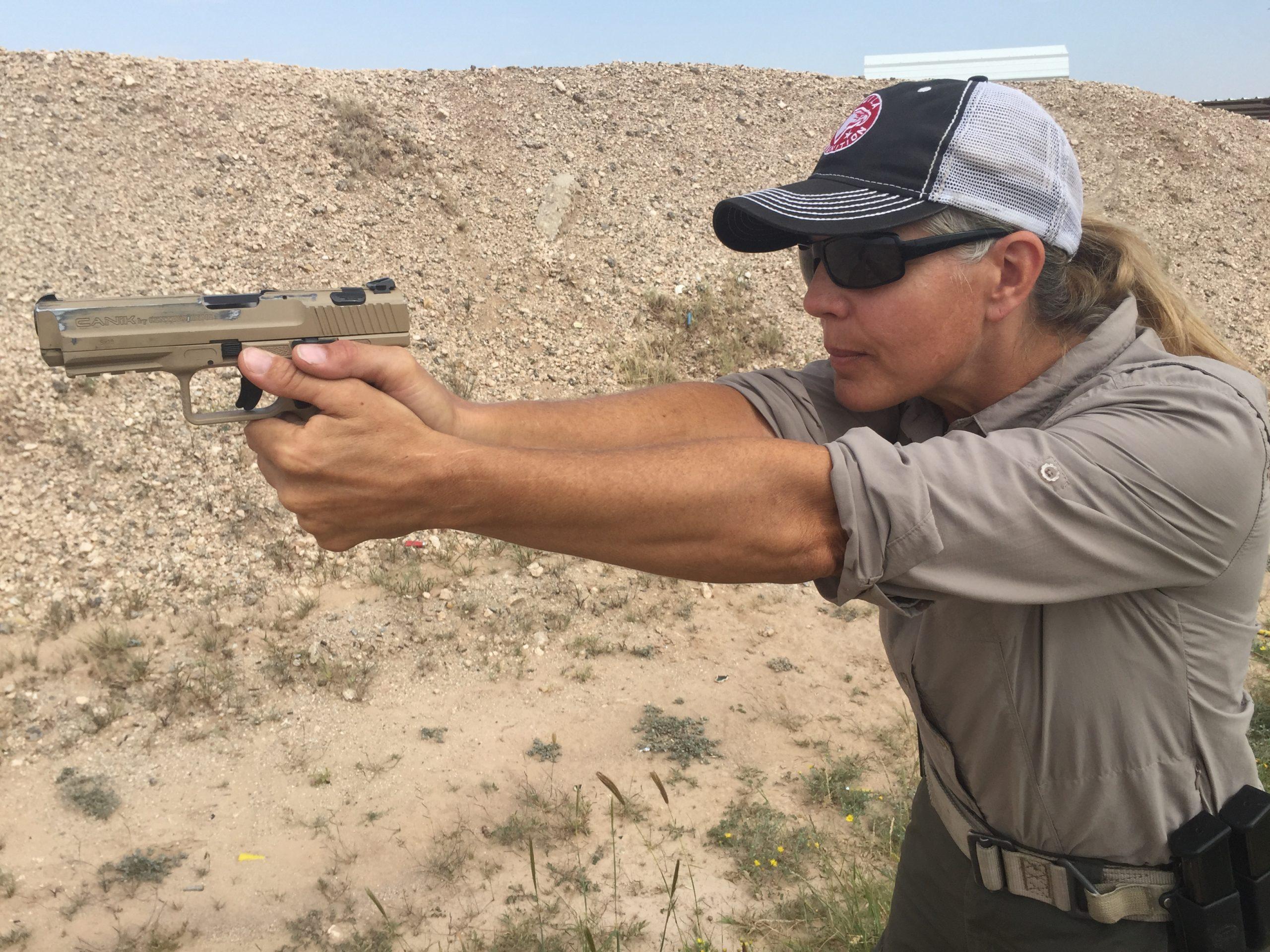 Defense Pistol – Ready Positions