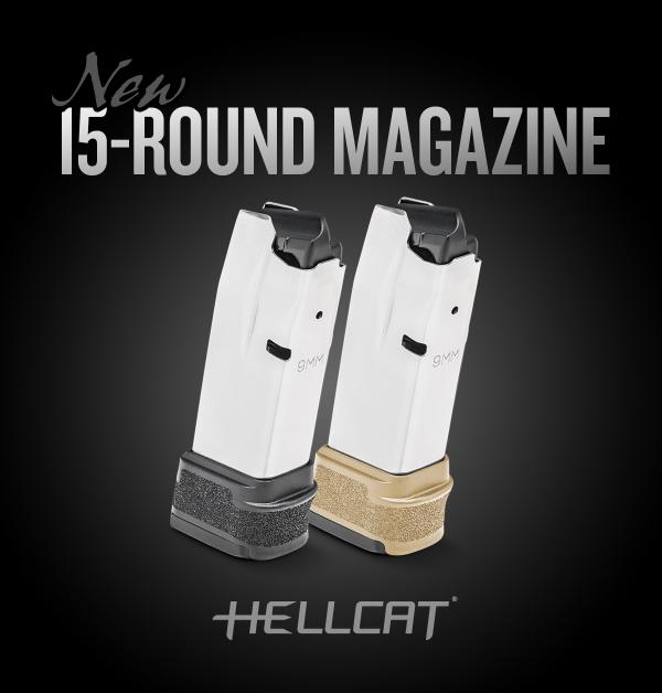 Springfield Armory Releases 15-Round Hellcat Magazine