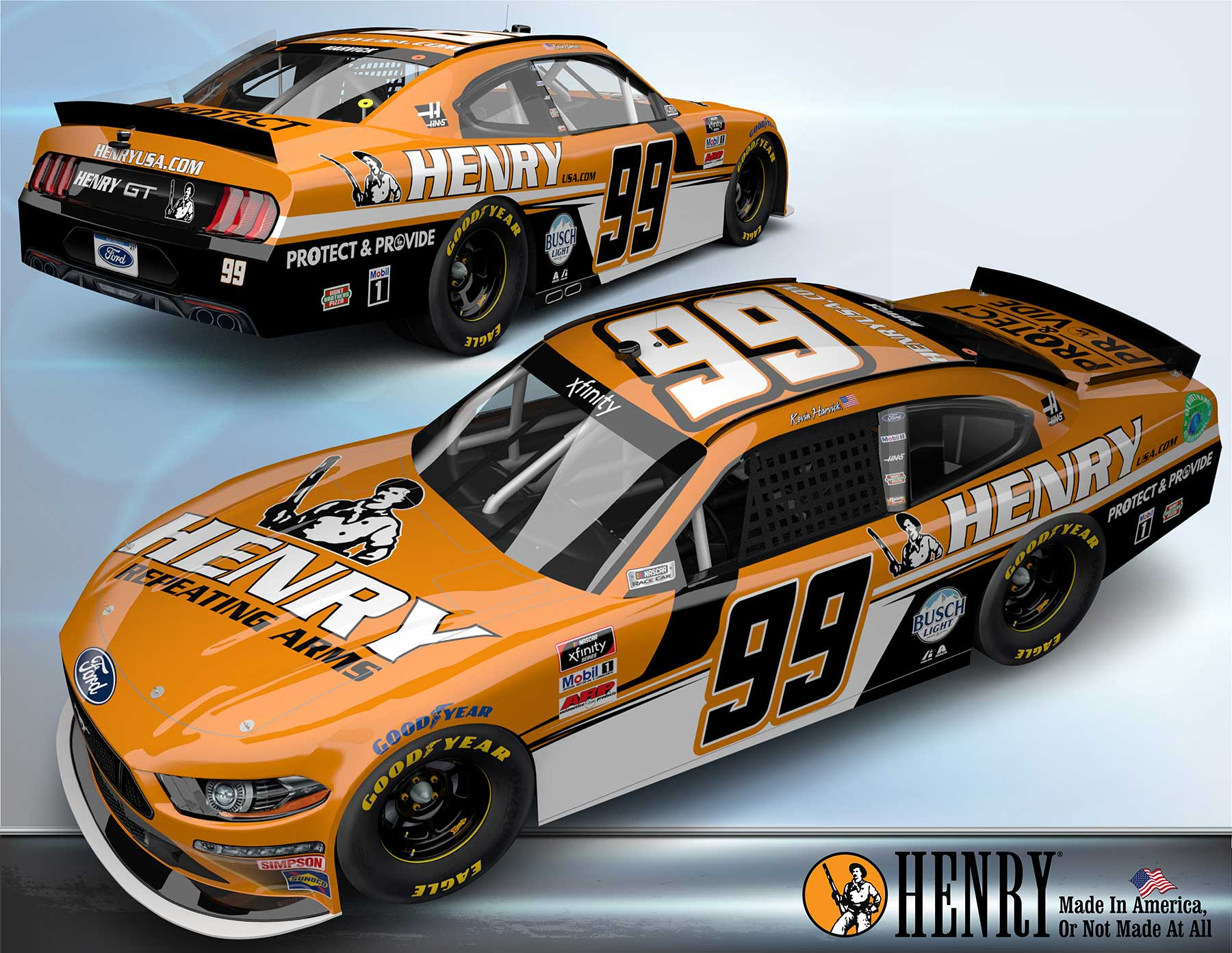 Read more about the article Henry Sponsoring NASCAR's Kevin Harvick