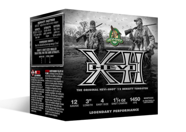 Read more about the article HEVI-Shot Introduces HEVI-XII Tungsten Waterfowl Loads