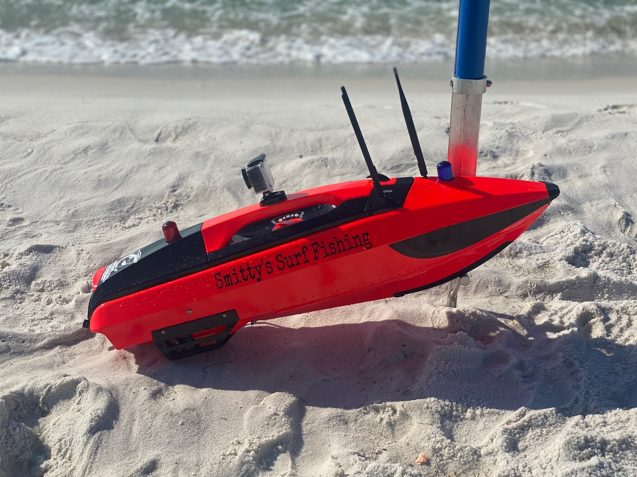 Read more about the article Surf Fishing…but From a RC Boat?